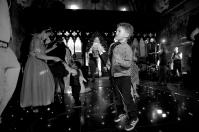 Rosa Steven Peckforton Castle Dance Floor