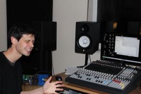 Rob at Silent City Studios