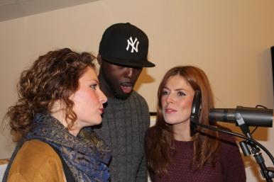 Trio of lead vocals