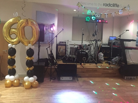 60th Birthday Party Live Band Huddersfield Football Club