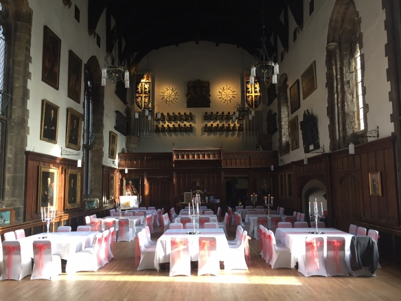 Durham Castle Wedding Breakfast