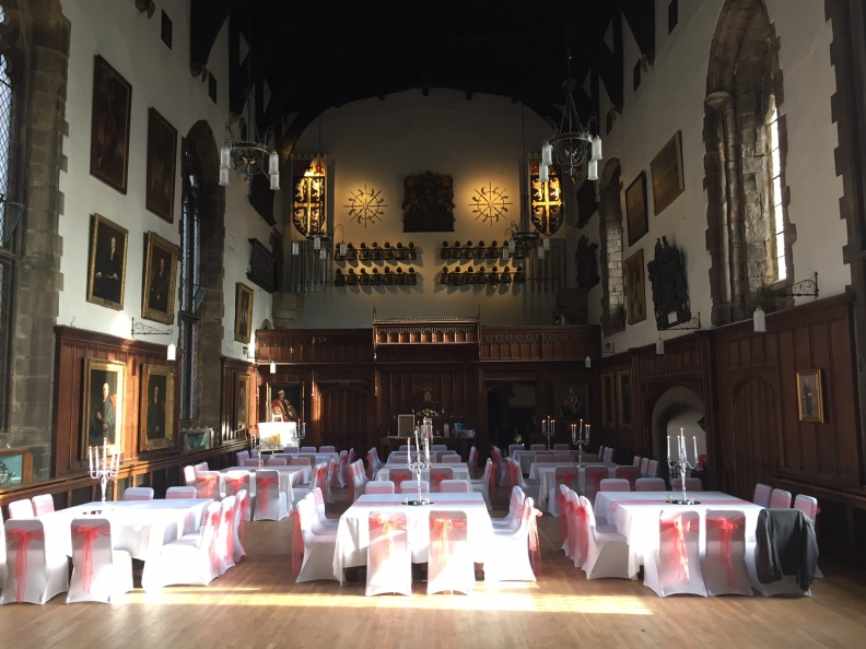 Durham Castle Wedding Breakfast