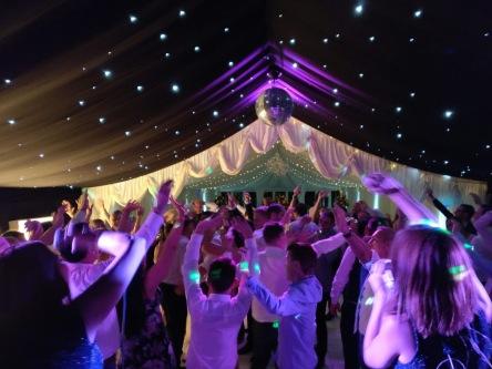 Dance Floor Dancing Live Band Music Wedding Leeds Func on the Rocks