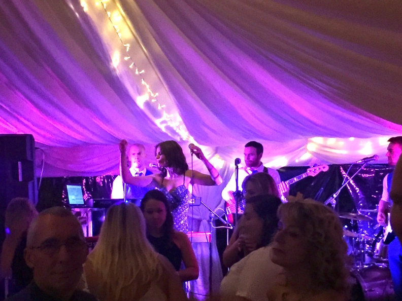 Party Time Packed Dance Floor Wedding Party Band Yorkshire