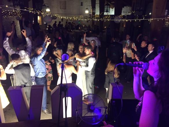 Live First Dance Dua Lipa Bride Groom Leeds Function Band