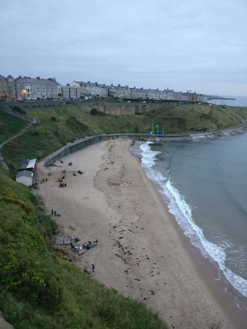 Tynemouth Priory Castle Wedding Live Music Party Band Beach