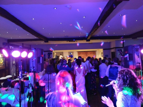 Live First Dance Yorkshire Wedding Band Party Holdsworth House Dancing