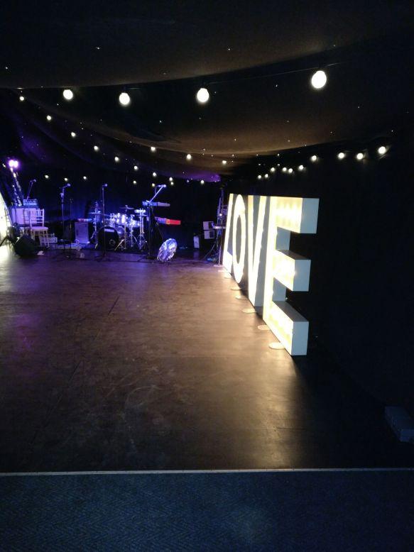 Middleton Lodge Band Set Up Wedding Venue Leeds Live Music