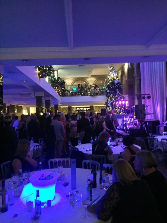 Christmas Party Aspire Leeds Live Music Dance Floor