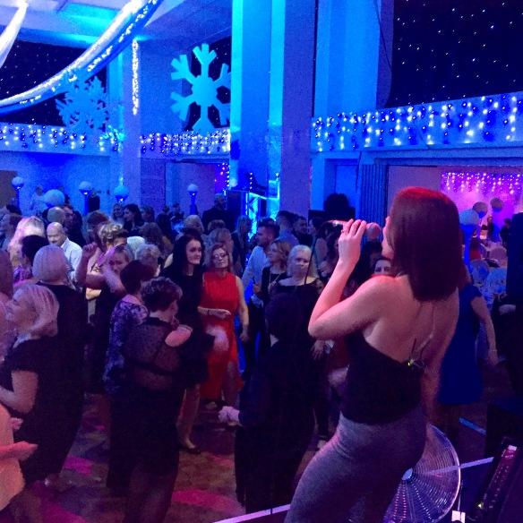 Christmas Party Royal Armouries Leeds Live Music Jocelyn Brown Dancing