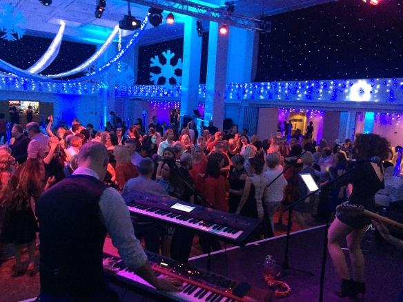 Christmas Party Dancing Dancefloor Best Function Band Leeds Royal Armouries
