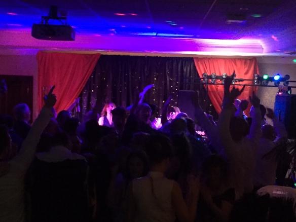 Full Dance Floor Christmas Party Marriott Hotel Manchester Live Music Yorkshire