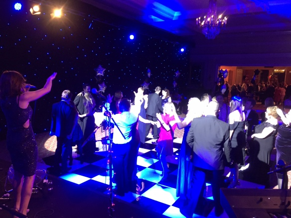 Majestic Hotel Harrogate Xmas Party Live Music Dancing Winter Wonderland